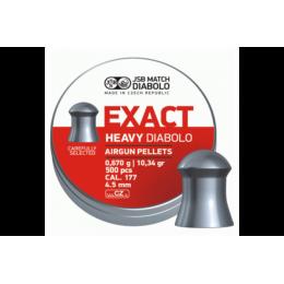Пули JSB EXACT HEAVY DIABOLO 0,670g 4,52mm 500шт