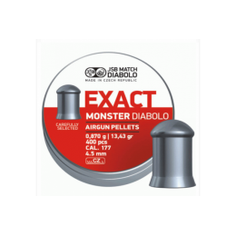 Пули JSB EXACT MONSTER DIABOLO 0,870g 4,52mm 400шт